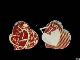 """Пакет подарочний """"Сердце"""""""