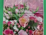 """Пакет ламинированный с петлевой ручкой маленький """"Розовый"""" 2706 (23х29) 50мк ДПА (50 шт) - фото 4"""