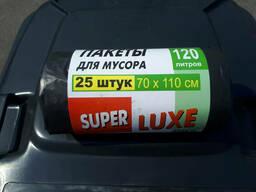 Пакети для сміття 120 л. (для контейнера твердих побутових відходів 120 л. )