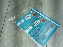 "Пакеты для льда ТМ ""Ваш Бюджет"" 120 шт 16,5см х 28см (1 пач)"