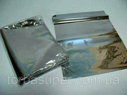 Пакеты фольгированные для гриля (термопакеты) 20мк 26*35, 100 шт\пач