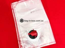 Пакеты с краником bag in box 3 литра, бег ин бокс