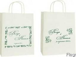 Пакеты для свадебного каравая и торта розмер 26х26х14