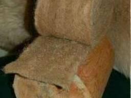 Пакля ленточная для сруба используется в качестве кон