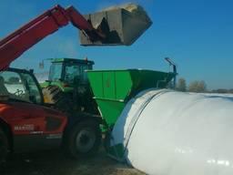 Пакувальних зерна та жому