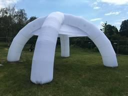 Палатка шатер надувной рекламный