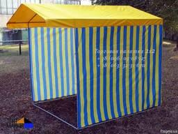 Палатка торговая 2.0х2.0 для лоточной продажи товаров