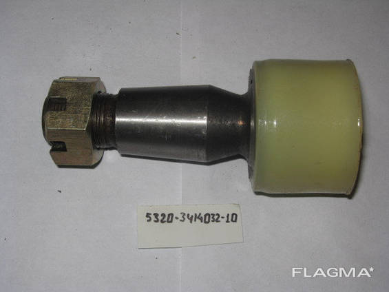 Палец рулевой КАМАЗ М24х1,5 шар 45 Полиуретан желтый 5320-34