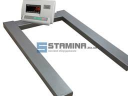 Паллетные весы ВПД-П 1200х800 мм - 1 т