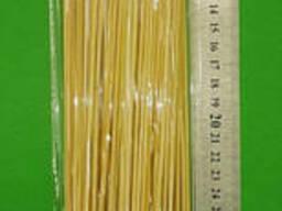 Палочки для шашлыка бамбуковые (100шт) 40см 2.5mm (1 пач)