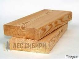 Палубная доска сибирская лиственница 27х110х4000 Элита