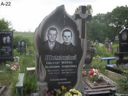 """Памятник гранитный """"Свеча"""" - фото 1"""