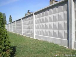 Заборная плита П6Ва-1 бетонная купить