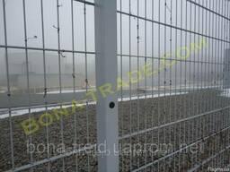 """Панельный забор для ограждения домов """"Кольчуга"""""""