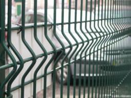 Панельный забор с ребрами жесткости L2. 5м H1. 53м
