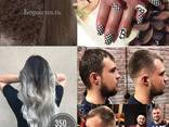 Окрашивание волос в Блонд, вечерние прически, укладки - фото 1