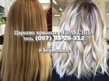Окрашивание волос в Блонд, вечерние прически, укладки - фото 4