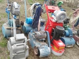 Паркетошліфувальна цикльовочна машина СО206, СО301, СО401 ,