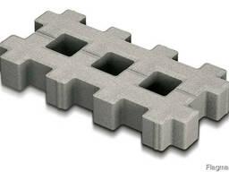 Парковочная решетка 40-20-8 серый
