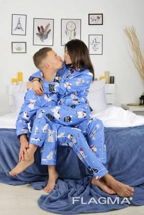 Парные пижамы для влюбленных. Шикарный подарок!