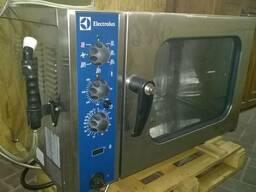 Пароконвектомат газовый Б/У Electrolux FCG 061 в отличном со