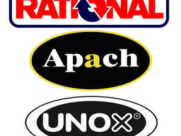 Пароконвектоматы Rational, UNOX, Apach.