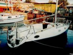 Парусно-моторная яхта «Скат»