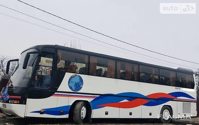 Пасажирські перевезення комфортабельним автобусом Neoplan. Оренда автобуса.