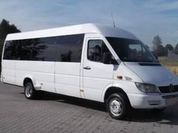 Пасажирські перевезення та оренда мікроавтобуса Львів