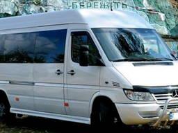 Пасажирські перевезення (трансфер) Україна, Європа, Карпати