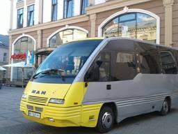 Пасажирські перевезення, замовлення автобусу