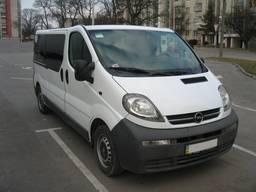 Пасажирський мікроавтобус на 8 місць Львів, бус Opel Vivaro
