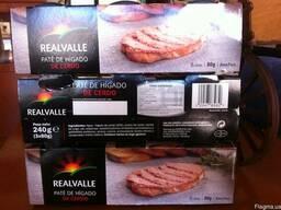 Паштет печеночный свиной, упаковка 3 х 80г. Испания.