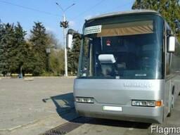 Пассажирские перевозки автобусами по Запорожью и Украине.