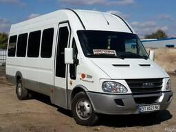 Заказ микроавтобусов 13-19 мест