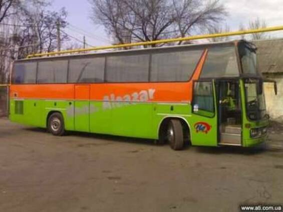 Пассажирские перевозки по Донецку,Украине,СНГ.