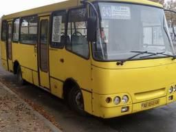 Пассажирский перевозки, заказ автобуса Богдан