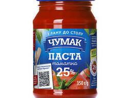 Паста томатная Чумак 350г