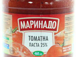 Паста томатная Маринадо 25% 0. 46л