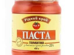 Паста томатная Рідний Край 25% 490г