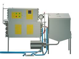 Пастеризатор молока проточный на 500 л УЗМ-0, 5