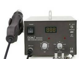 Паяльная станция Bakku BA-8850D цифровая индикация, фен, паяльник