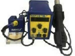 Паяльная станция Bakku BK-878L2 цифровая индикация, фен, паяльник (260*173*165) 2, 27 кг
