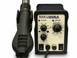 Паяльная станция Bakku BK-898А , паяльник с блоком регулировки, фен (260*170*158) 2, 25 кг