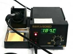 Паяльная станция Bakku BK-936D, цифровая индикация, паяльник с блоком регулировки, Box. ..
