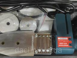 Паяльник пластиковых труб Беларусмаш БПТ-2600 (2.6 кВт; 6 насадок 20-63 мм )