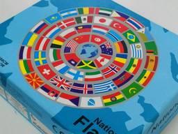 Пазл круглый Флаги Мира