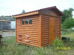 Пчелиный домик для апитерапии 2.4м х3м на 4 семьи