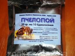 Пчелопой (аналог аквакорма)20гр на 10доз