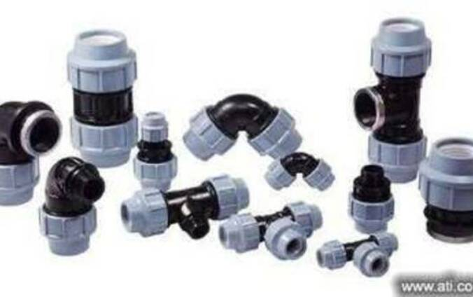 ПЭ фитинги компрессионные(зажимные) для систем водоснабжения